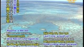 SAVE OUR PLANET... On November 25, 2011, the Australian government announced plans to establish the Coral Sea Commonwealth Marine Reserve, a 990,000 square kilometer region of protected waters that would help preserve the area's ocean life and ecosystems.