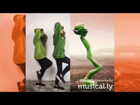 Dame Tu Cosita Dance Challenge Musical.ly Girls 2018 #DameTuCosita