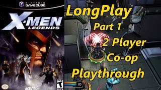 X Men Legends   Longplay 2 Player Co Op  Part 1 Of 2  Full Game Walkthrough  No Commentary