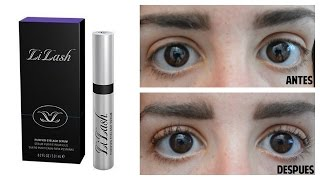 "LI LASH"" REVIEW PESTAÑAS LARGAS BEFORE/AFTER 