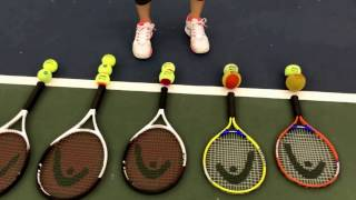 Quick start tennis: racquet and ball basics