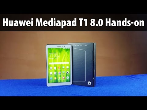 Huawei Mediapad T1 8.0 Review: Unboxing & Full Hands on