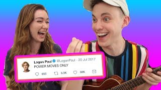 Video We wrote a song using only Logan Paul tweets MP3, 3GP, MP4, WEBM, AVI, FLV September 2018