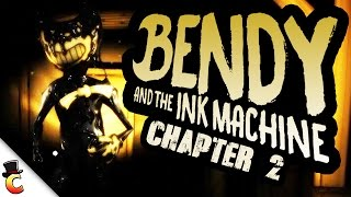 BENDY ON STEROIDS! - Bendy and the Ink Machine Gameplay - Bendy and the Ink Machine Chapter 2