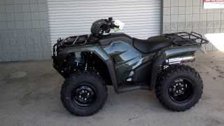 9. 2014 Foreman 500 Manual / Foot Shift SALE at Honda of Chattanooga TN / TRX500FM1E