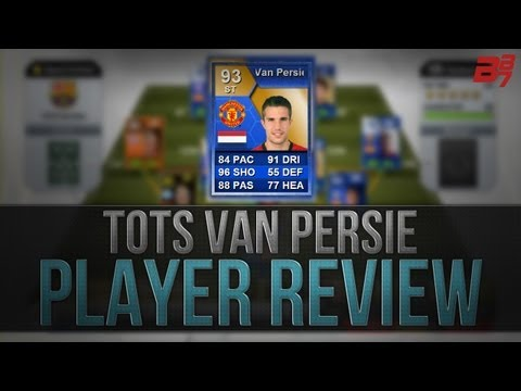 FIFA 13 Ultimate Team | Player Review | TOTS Van Persie