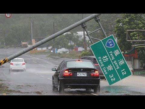Κίνα: O υπερ-τυφώνας Μεράντι σαρώνει τα πάντα στο πέρασμα του