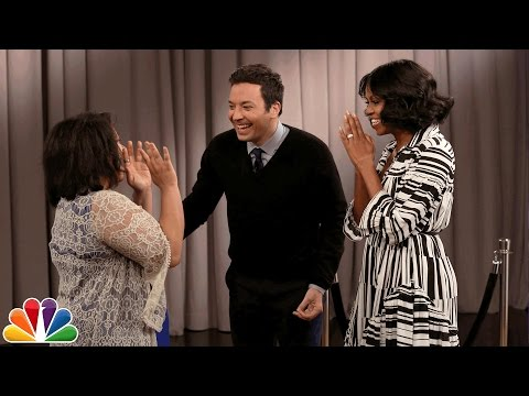 First Lady Michelle Obama Surprises People Recording Goodbye Messages to