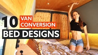 Video 10 Awesome BED DESIGNS for your VAN CONVERSION 🛏 🚐 MP3, 3GP, MP4, WEBM, AVI, FLV Agustus 2019