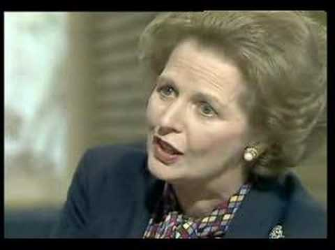 Thatcher Tells David Frost About The Belgrano