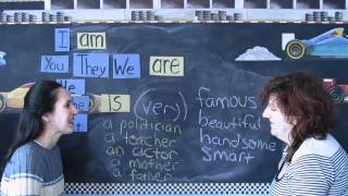 Forming Sentences with BE, Lessons for Beginners 19