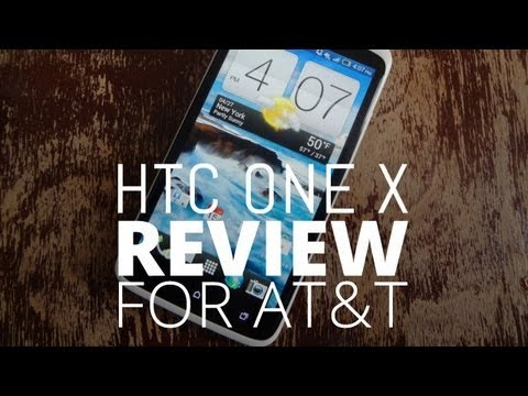 HTC One X - HTC One X Review - AT&T Version Full written review: http://tchno.be/ITJGYz We fell in love with the international HTC One X and we've also just spent the pa...
