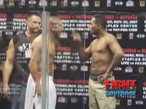 Ricardo Mayorga Against Fernando Vargas