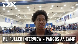 P.J. Fuller Interview - Pangos All-American Camp