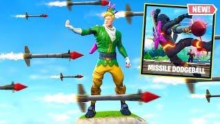 Video GUIDED MISSILE DODGEBALL *NEW* Custom Gamemode In Fortnite Battle Royale MP3, 3GP, MP4, WEBM, AVI, FLV Oktober 2018