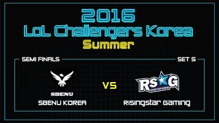 SBENU vs RSG, game 5