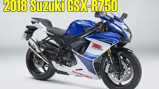 5. Suzuki GSX-R750 preparing for a comeback in 2018.