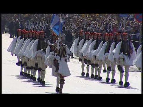 """Στρατιωτική παρέλαση στην Θεσσαλονίκη για την επέτειο του """"ΌΧΙ"""