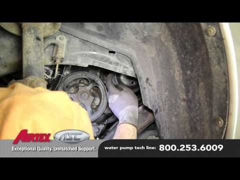 How to Install a Water Pump – Saturn 1.9L WP-844 AW5054