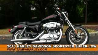 7. 2013 Harley-Davidson Sportster Super Low XL883