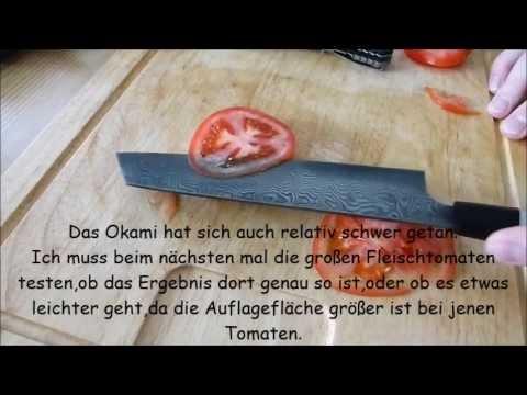 Tomaten - Schneidtest !
