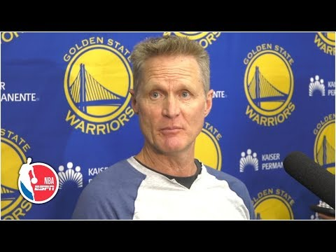 Warriors hope to have both Kevin Durant and Klay Thompson back – Steve Kerr | 2019 NBA Finals