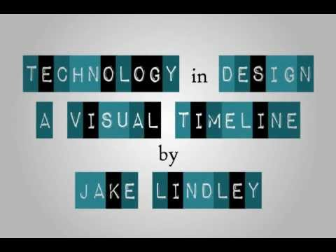 Visual Timeline, A History of Technology in Design (Animation)