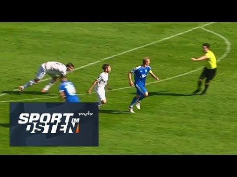 Sören Eismann fue encarado por los jugadores rivales y se ganó las críticas de la prensa.