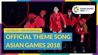 Video Reach for The Stars - Via Vallen - Official Theme Song Asian Games 2018 MP3, 3GP, MP4, WEBM, AVI, FLV November 2018