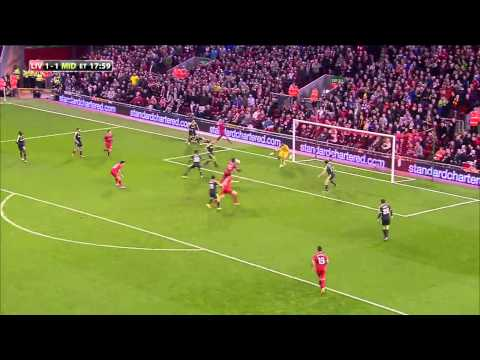 All Goals and Highlights | Liverpool 2:2 (14:13) Middlesbrough (Full Penalty Shoot-Out) (23.09.2014)