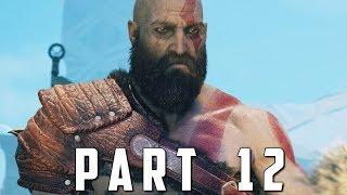 GOD OF WAR Walkthrough Gameplay Part 12 - STONE ANCIENT BOSS (God of War 4)