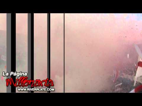 Gran Recibimiento de River Plate II - Superclasico - Los Borrachos del Tablón - River Plate - Argentina - América del Sur