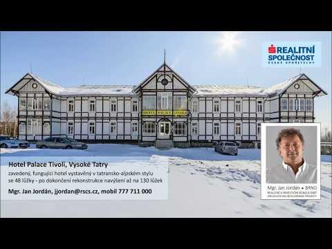 Prodej hotelu Palace Tivoli ***, Tatranská Polianka, UP 3368 m2, 130 lůžek