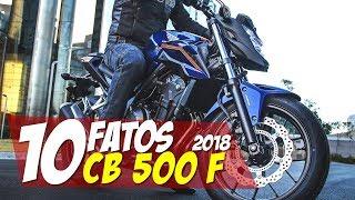 9. 10 FATOS: CB 500F 2018 - #10F08 Motorede