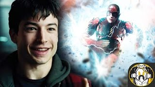 Why Ezra Miller's Flash Has Blue Lightning in the DCEU EXPLAINED