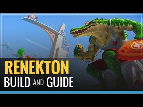 Guide - Renekton Build in the Top lanes. Nasus cannot escape me forever, at least not this game. Build- -Dorans Shield and pot at lvl 1 -Sunfire Cape -Spirit Visage ...