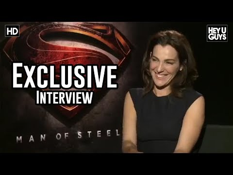 heyuguysblog - James Kleinmann went to the Warner Bros. Studios in Burbank California to talk to Ayelet Zurer who plays Superman's mother Lara Lor-Van, to talk about her re...
