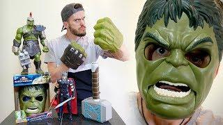 THOR RAGNAROK!! Coleção de Brinquedos da Hasbro - Hulk and Thor Toys Collection