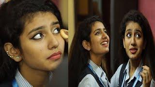 Video Priya prakash Varrier Behaviour in Makeup room|| on location Oru Adaar Love||beautiful song MP3, 3GP, MP4, WEBM, AVI, FLV Juli 2018