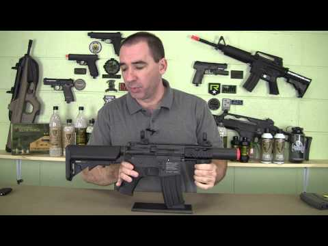 New Elite Force Guns - Brand new from Elite Force the M4 CQC is an awesome platform for a CQB airsoft gun. Please check them out at http://www.eliteforceguns.com or your local reta...