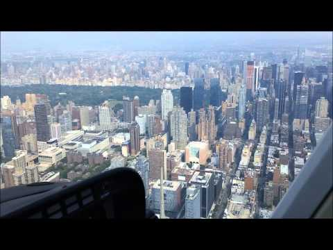 New York City - Get a real helicopter view of the NYC downtown area. Hear the real sound inside the helicopter. Statue of liberty - GROUND ZERO ( under construction ) - Gove...