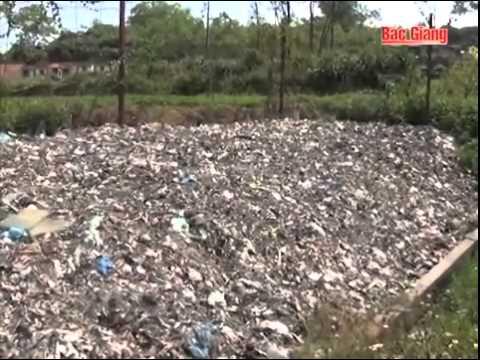 Hiệu quả lò đốt rác bằng khí tự nhiên huyện Tân yên