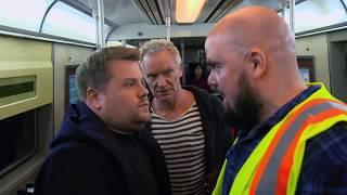 Video James Corden, Sting, & Shaggy Attempt Subway Karaoke | 60th GRAMMYs MP3, 3GP, MP4, WEBM, AVI, FLV Agustus 2018