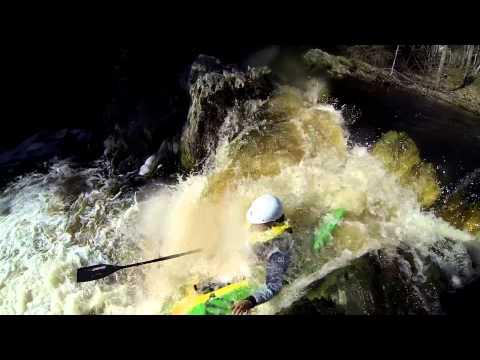 Meteghan River Falls
