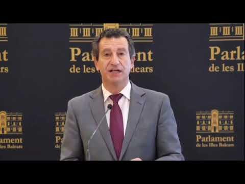 Declaraciones de Biel Company con motivo del Día de las Illes Balears