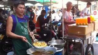 Lamphun Thailand  city pictures gallery : Walking street in Lamphun thailand April 2015