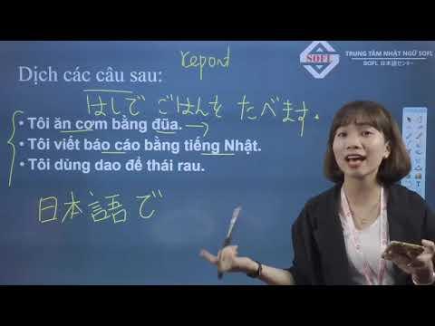 Chinh phục ngữ pháp N5 bài 7,8,9 Minna