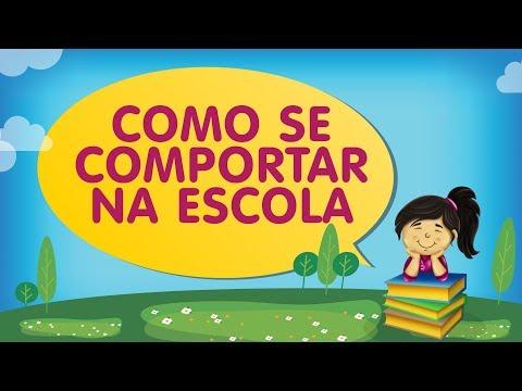 COMO SE COMPORTAR NA ESCOLA | Histórias com a Tia Érika