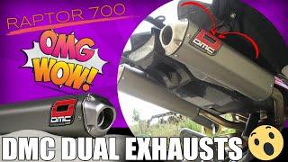 7. DMC Dual Exhausts On Yamaha Raptor 700R SE
