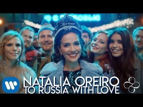"""Наталья Орейро сняла видеоклип на свою песню """"To Russia With Love"""" в подмосковной Балашихе."""